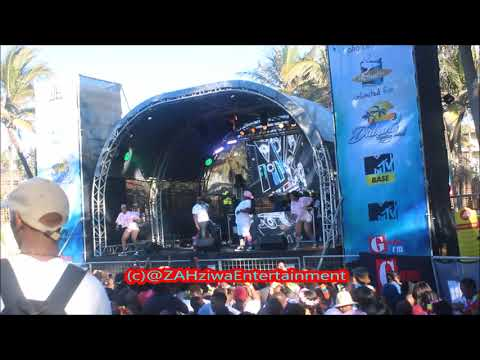 DJ Tira - Malume ft Tipcee  Crazy Dance Moves At #DubaneSpringBreak Ushaka Marine World