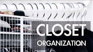 Compact Closet Organization & Personal Style
