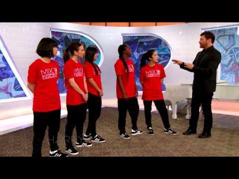 Female Hip Hop Dance Group Mix'd Ingrdnts