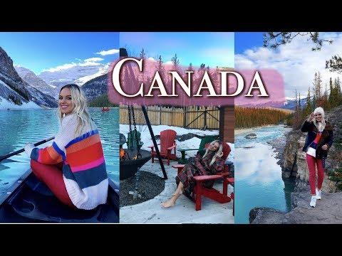 CANADA TRAVEL VLOG - THE ROCKIES AND ALBERTA | 2018