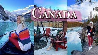 CANADA TRAVEL VLOG - THE ROCKIES AND ALBERTA | 2018