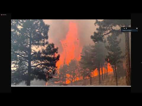 view Cameron Peak Fire Update video