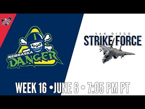 IFL Week 16 | Nebraska Danger at San Diego Strike Force