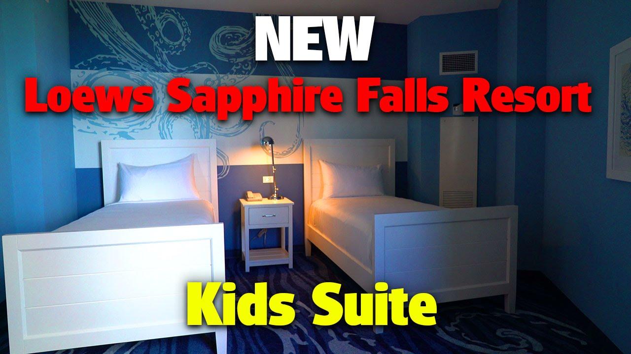 NEW Loews Sapphire Falls Resort | Kids Suite
