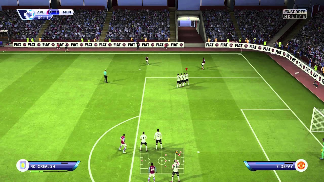 Fifa 15 Match Day Live 15 16 Ep 2 Manchester United Vs