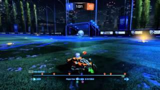 Rocket League insane goal