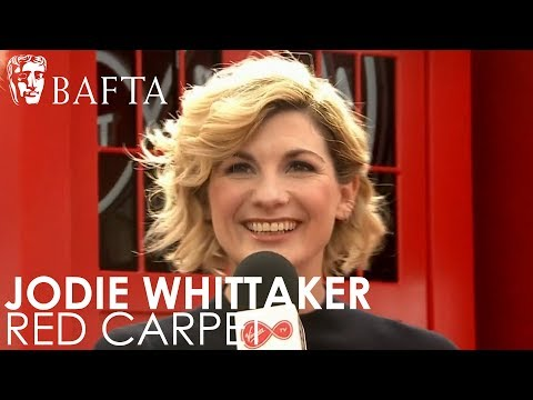 Jodie Whittaker talks about becoming the Thirteenth Doctor  BAFTA TV Awards 2018