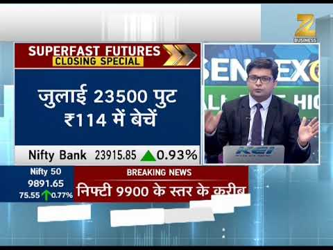 Superfast Futures: Will Nifty go above 9900? | क्या निफ्टी 9900 के ऊपर जाएगा?