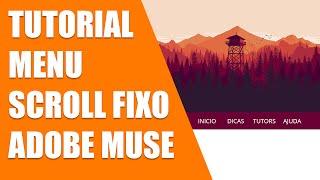 Adobe muse cc 2015 - Menu scroll fixo