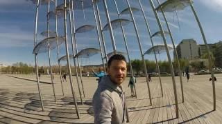 Walking in Thessaloniki