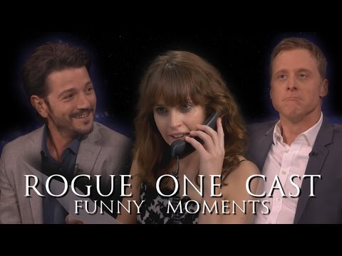 Rogue One: A Star Wars Story Cast Funny Moments - Episode II (Part 2)