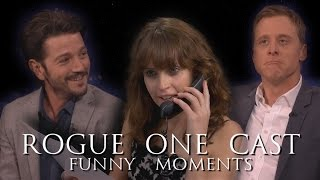 """""""Rogue One: A Star Wars Story"""" Cast Funny Moments Episode II (Part 2)"""