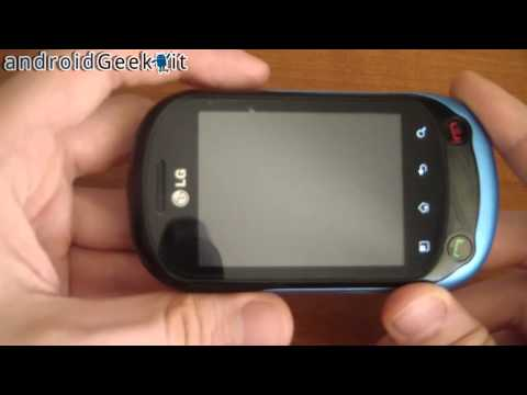Videorecensione LG Optimus Chat by androidgeek.it