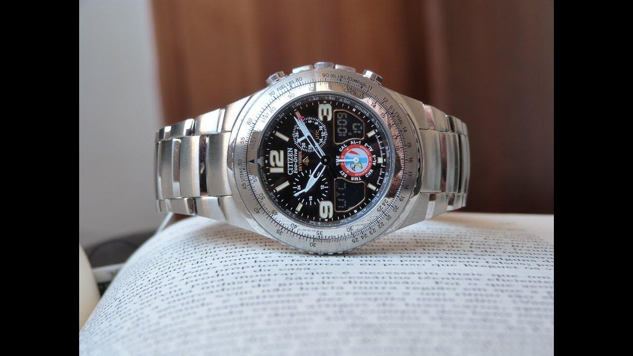 20d3b4700f0 Relógio Citizen Esquadrilha da Fumaça JR3160-54E TZ10146T Eco-Drive ...