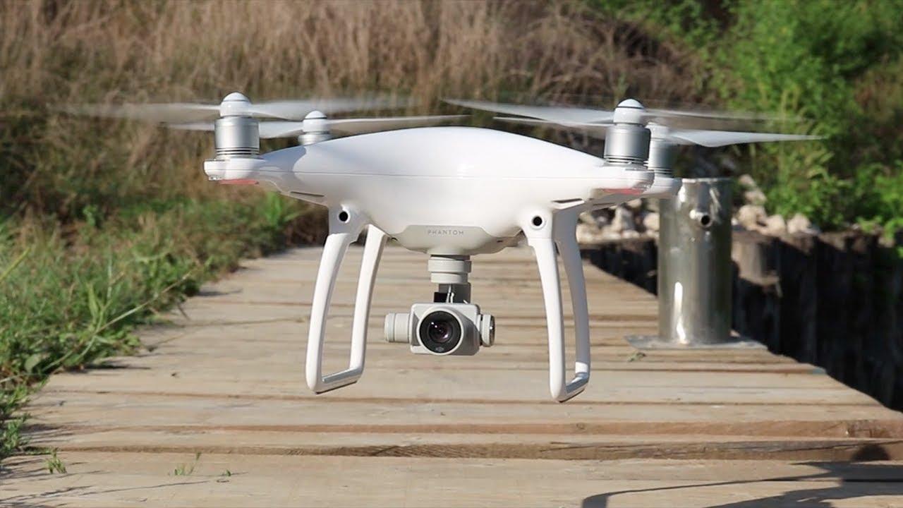 DJI Phantom 4 - Recensione drone + Test di volo - YouTube