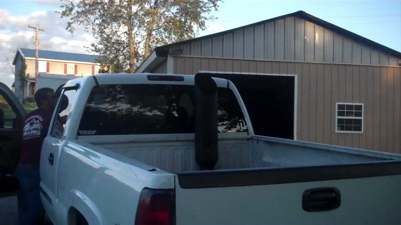 Duramax With 8in Stack Youtube