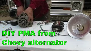 Converting an Alternator to a PMA