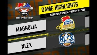 PBA Philippine Cup 2018 Highlights: NLEX vs Magnolia Mar. 16, 2018