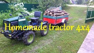 Homemade tractor 4x4