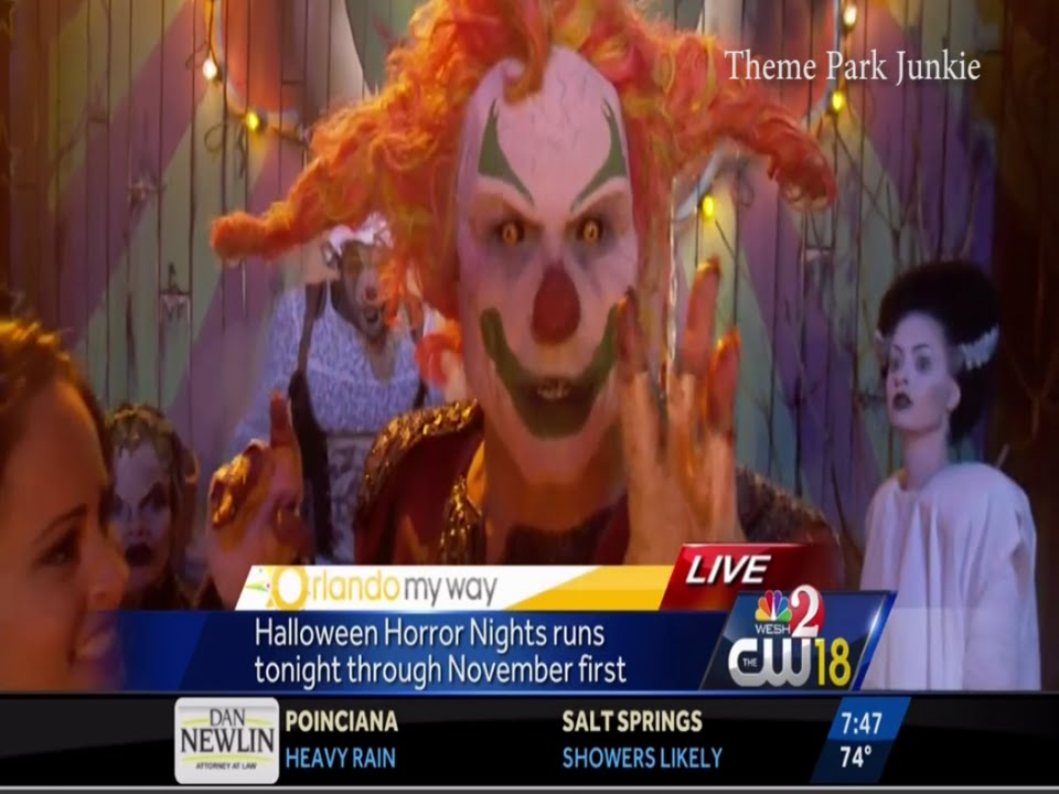 wesh jack the clown halloween horror nights 25 youtube - Halloween Horror Night Theme