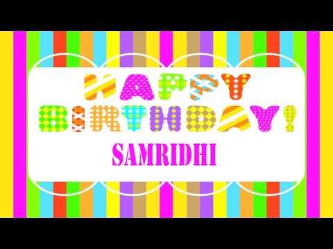 Samridhi   Wishes & Mensajes - Happy Birthday