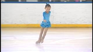 ISI Ice skating alpha competition, Yolandi Han, 08-17-2013 first place at San Diego