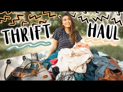 MASSIVE SUMMER THRIFT HAUL 2018 (so many treasures!!) ♡