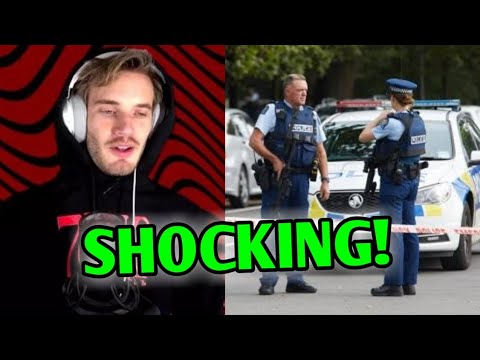 PewDiePie Mentioned In The New Zealand Attack! Serious Trouble - His Response | Angry Prash, Ninja |