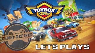 Back to The Toybox Racing Game : ToyBox Turbos