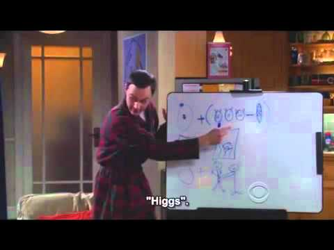 Higgs Boson Particle According To Dr Sheldon Cooper Youtube
