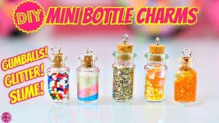 Tiny Charm Bottles - Cutest Jewelry DIY!