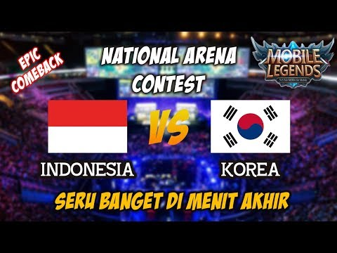 Rise Warpath Bareng Tim Dapet Epic Comeback Indonesia vs Korea Natonal Arena Contest 21092017