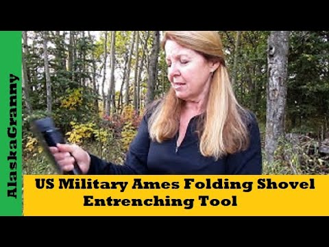 US Military Ames Entrenching Tool Folding Shovel- Prepping Must Have Tool