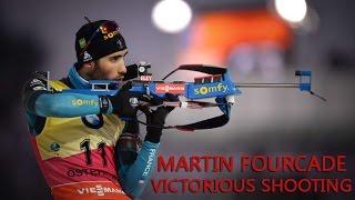 Martin Fourcade - Victorious shooting (2016-2017)