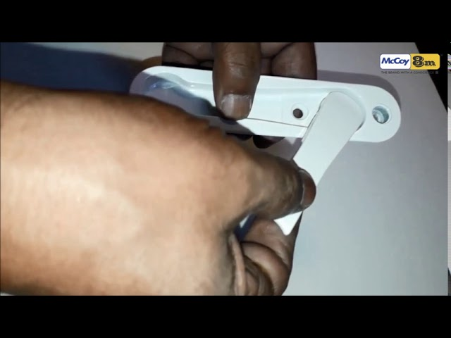 Multi-Point Locking Handle for PVC-U Sliding Windows (McCoy POP Up-1)