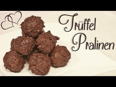 Trüffel Pralinen selber machen | Schokoladen Trüffel Rezept ohne Alkohol