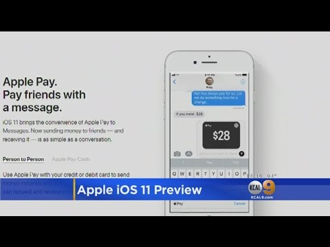 Apple iOS 11 Preview
