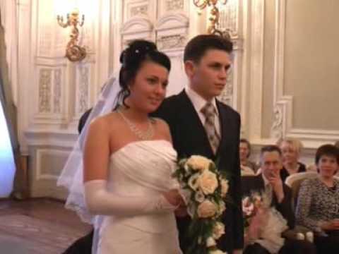 Торжественная регистрация во Дворце бракосочетаний 1
