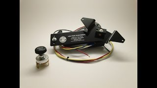 Unboxing wiper motor conversion for 1957 Chevy