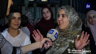 فلسطينيون يحيون الجمعة الأخيرة من شهر رمضان في المسجد الأقصى - (1-6-2019)