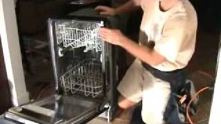 Adjusting A Dishwasher Height To Fit The Opening: On A New Install