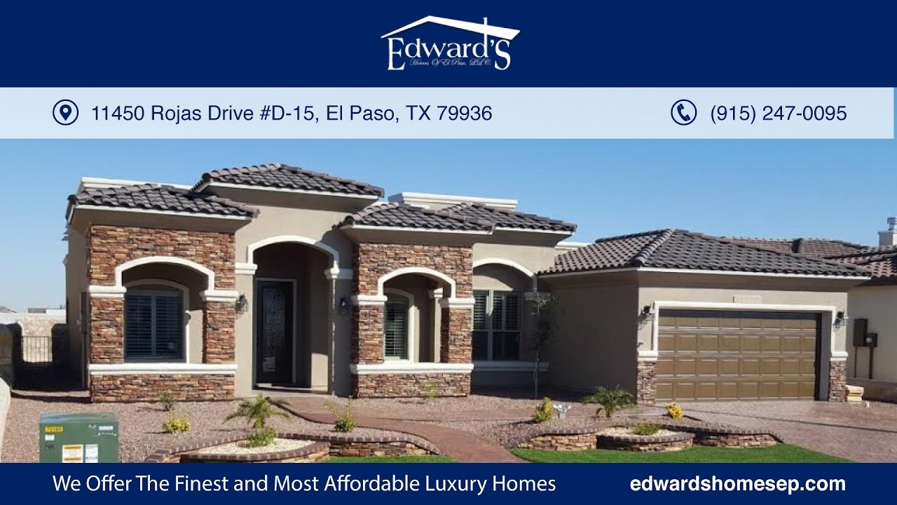 El paso luxury home builder 79936 tx 915 247 0106 for New home builders el paso