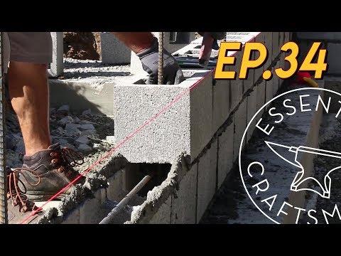 Laying Block Stemwalls EP.34