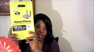 Straight Talk Wireless Home Phone No- Contract Replacement for your Landline phone