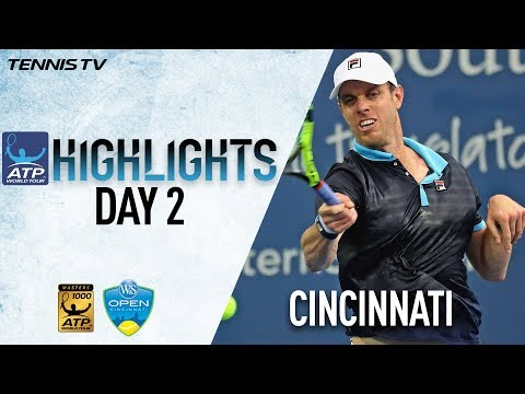 Highlights: Querrey, Tiafoe & Fognini Advance In Cincinnati 2017 On Monday