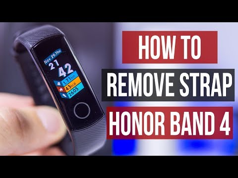 how-to-remove-strap-on-huawei-honor-band-4