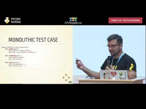 Продвинутое использование py test, Андрей Светлов, Python Core Developer