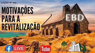 Escola Bíblica Dominical 10/01/21