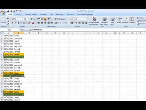Come Creare un Calendario in Excel | CreaGratis.com
