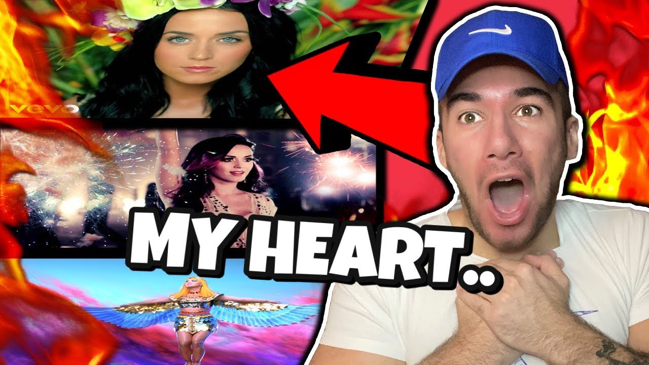 Rapper Reacts to KATY PERRY for THE FIRST TIME (Firework, Roar, Dark Horse)